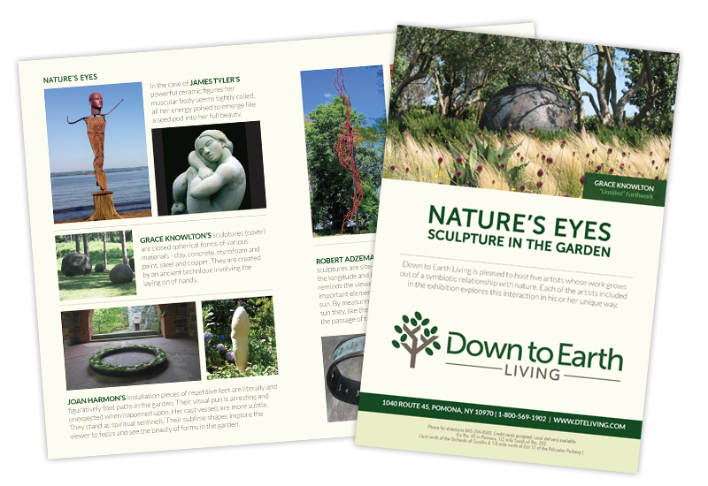 Down to Earth Exhibit Brochure