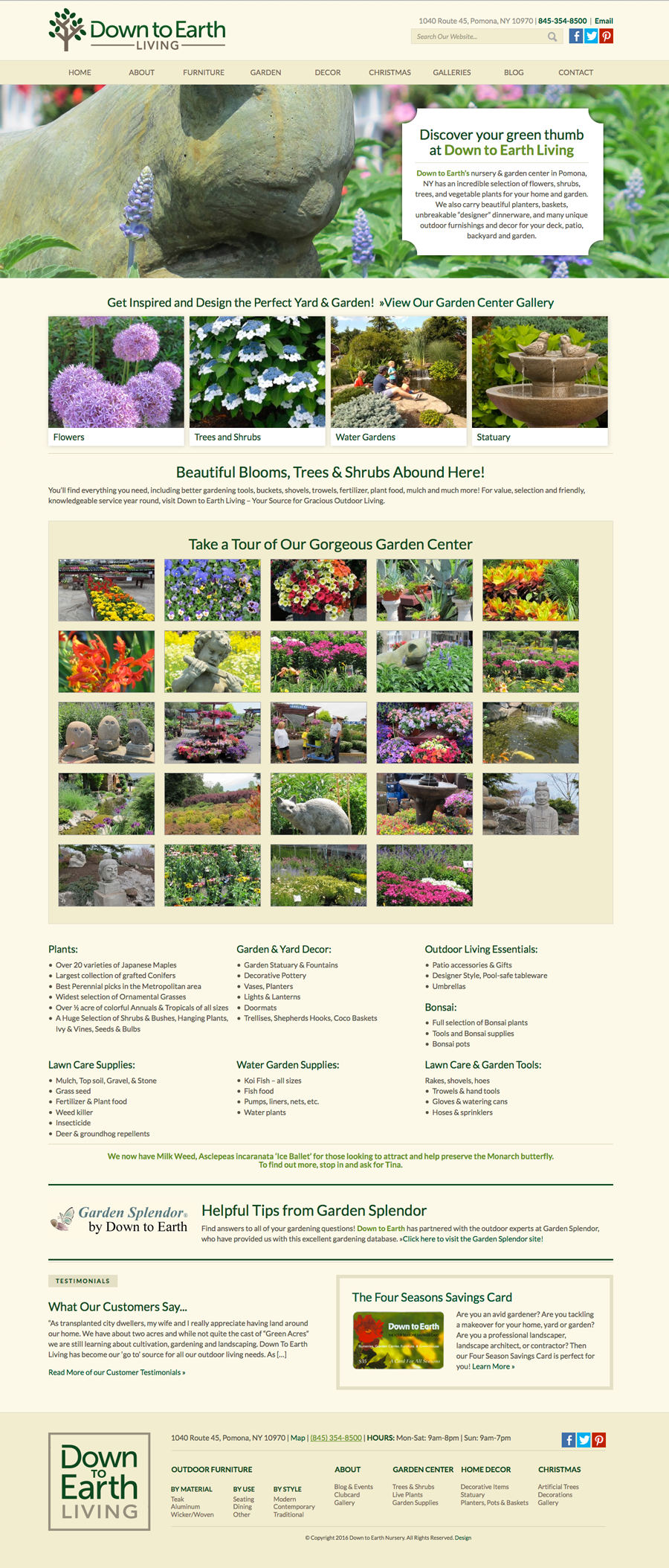 DTE Living Garden Page