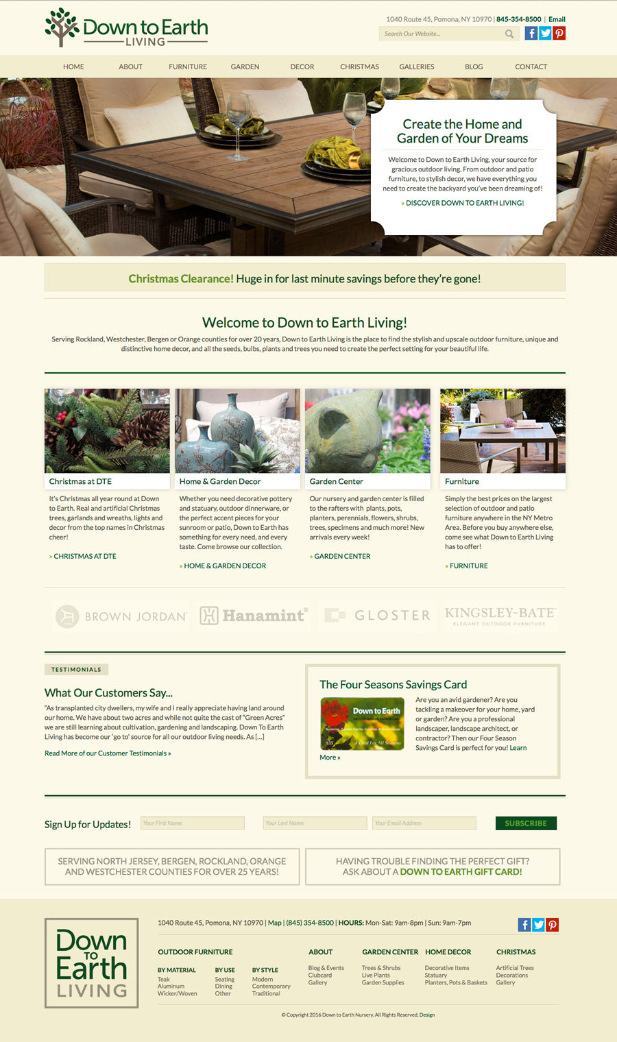 DTE Living Home Page