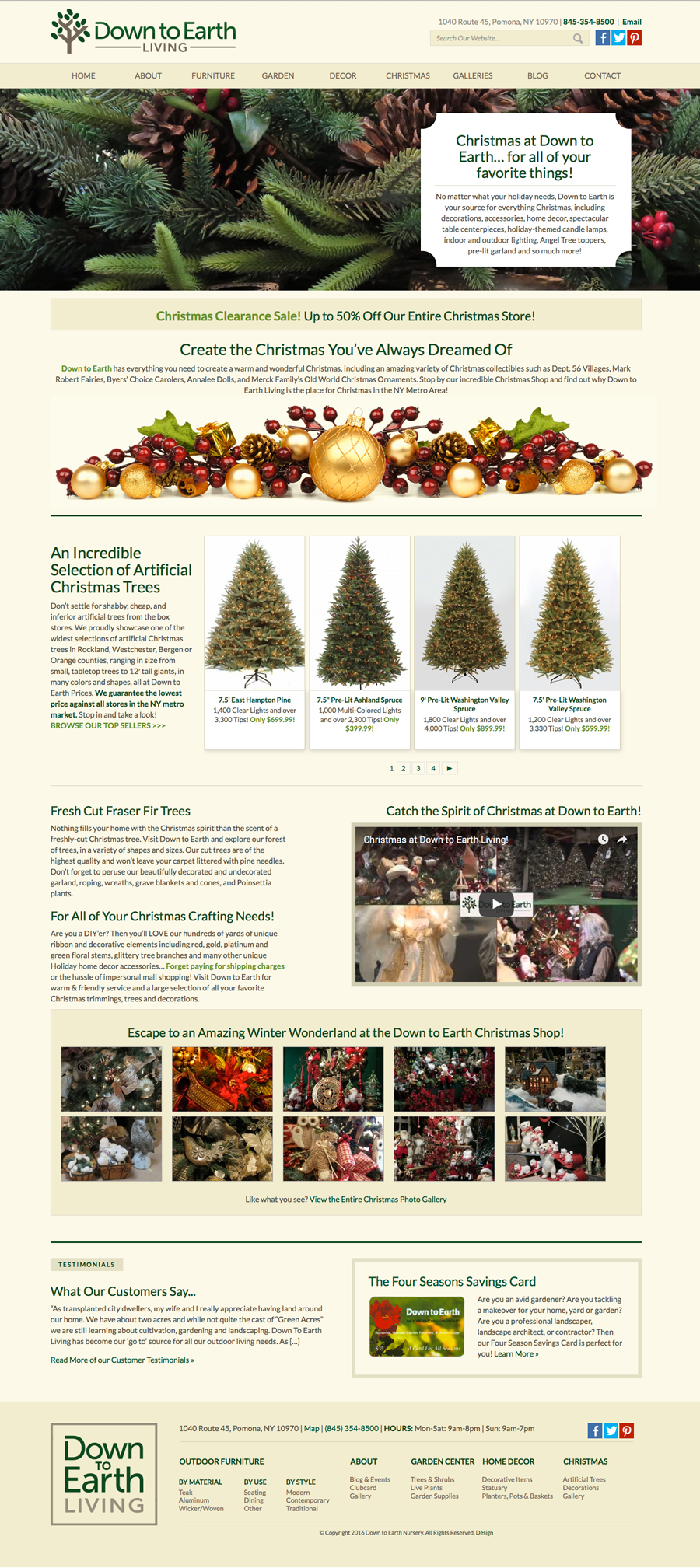 DTE Living Christmas Page