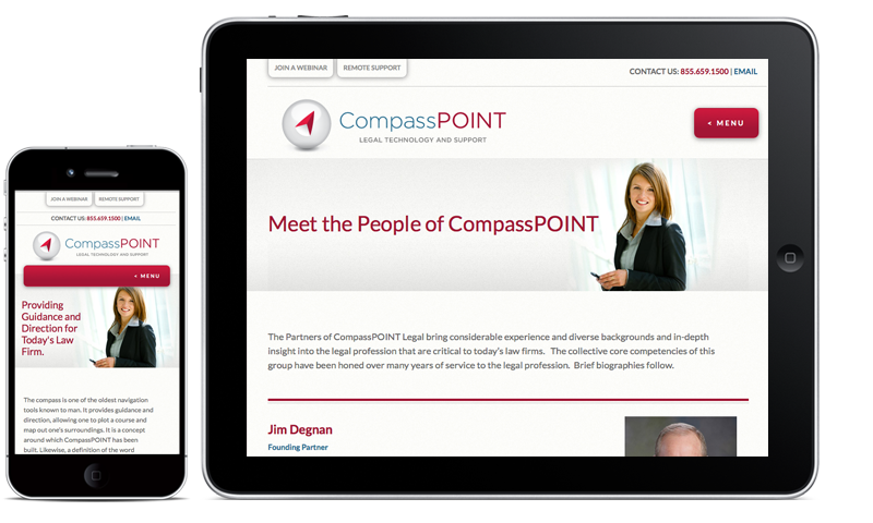 CompassPOINT Responsive Website