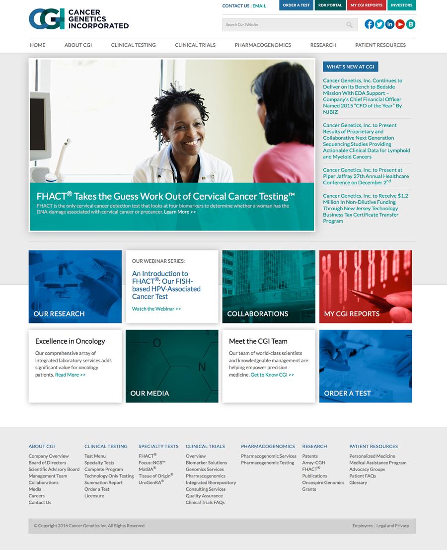 CGI Home Page