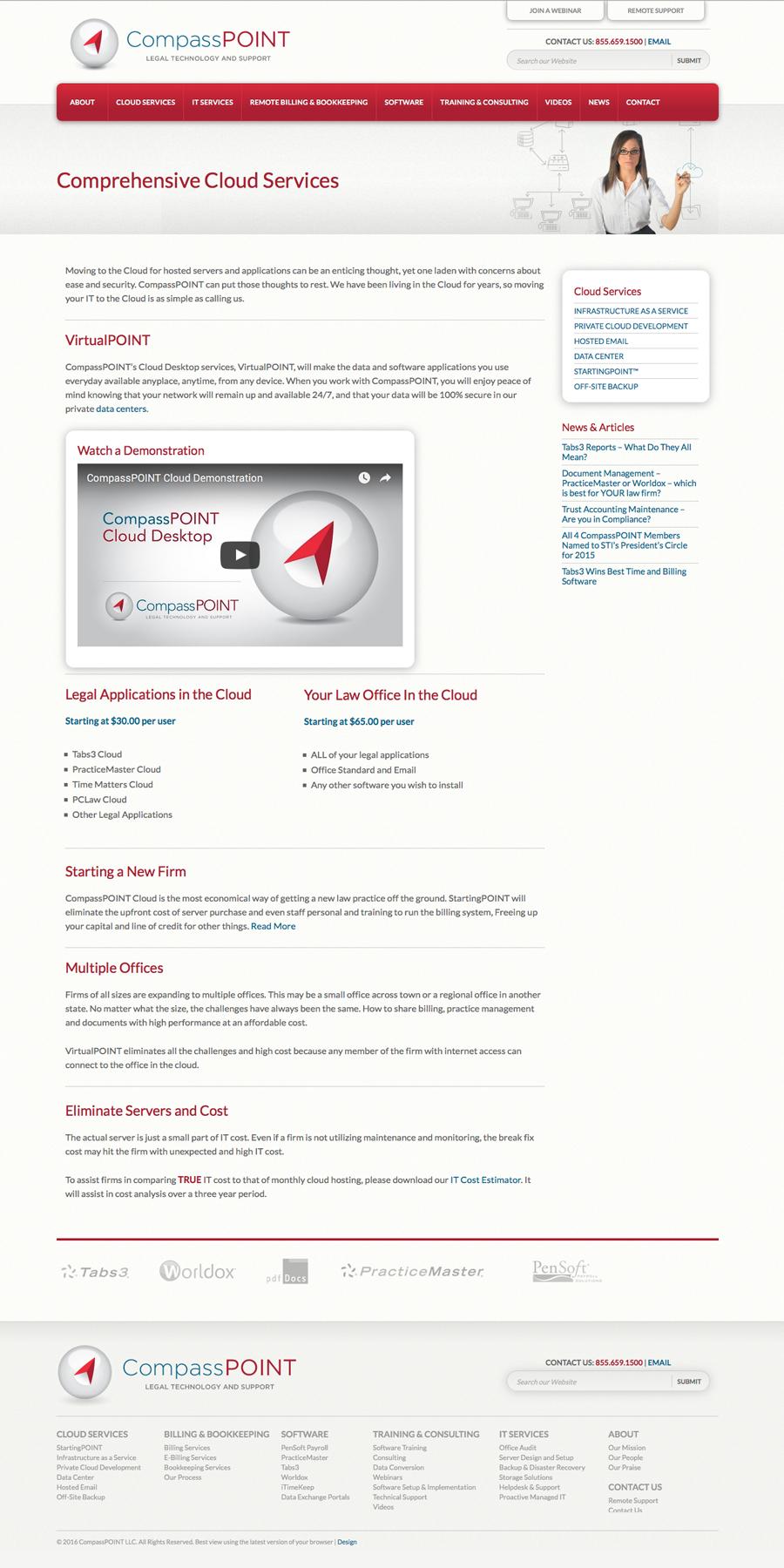 CompassPOINT Interior Page