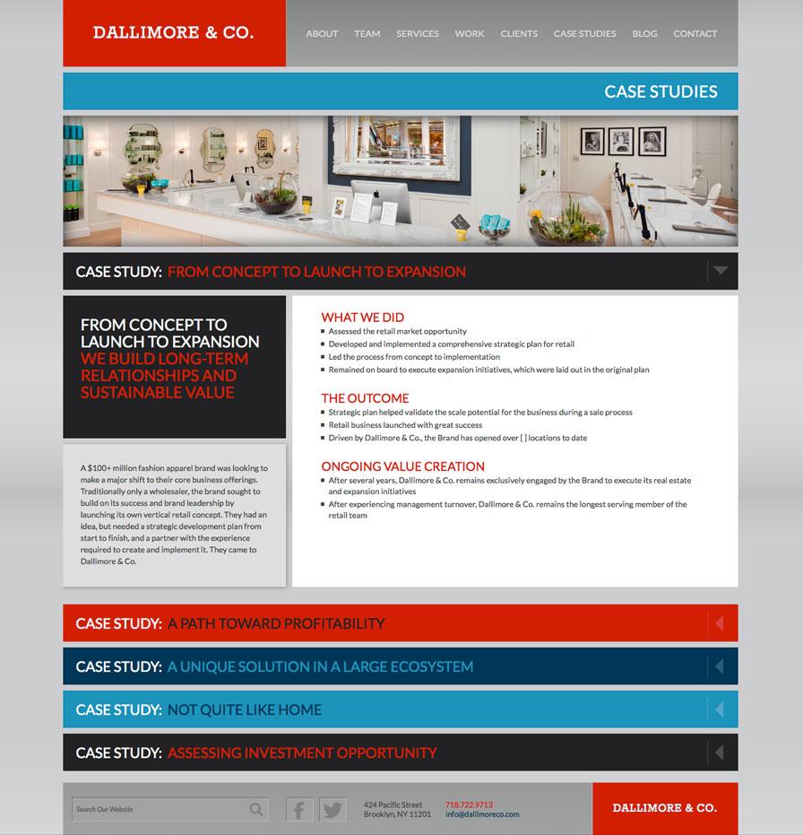Dallimore & Co. Case Study Page